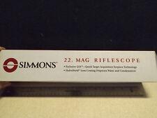 SIMMONS 22. MAG RIFLE SCOPE EUC