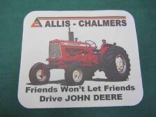 "ALLIS CHALMERS 185 /""FRIENDS WON/'T LET FRIENDS DRIVE JD/"" COFFEE MUG"