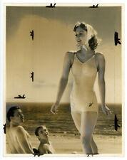 ELAINE SHEPARD original SEXY double weight movie photo 1930s