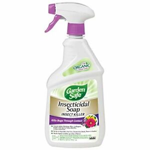 Garden Safe Insecticidal Soap Insect Killer Ready To Use 24oz