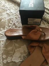 dune Leather sandals size 5