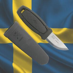 MORA ELDRIS Stainless Steel by MORAKNIV Bushcraft Scout Mora Knives (Dark Gray)