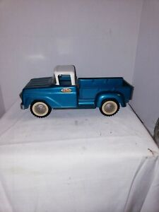 VINTAGE PRESS STEEL TONKA TOY PICK UP TRUCK GREEN EXCELLENT