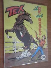 TEX ED. BONELLI - N° 84 Il re del Rodeo L.400  OTTIMO  /LC/