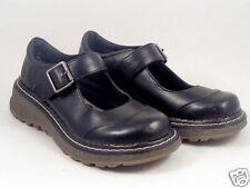 Mary Jane shoes size 7 M US Black Vegan Self Esteem 5 UK Buckle Goth Punk Girls