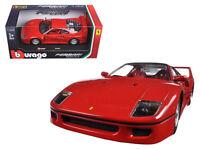 Ferrari F40 Red 1:24 Diecast Model - 26016RD *