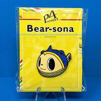 Atlus Persona 4 Golden Teddie Kuma Bear-Sona Enamel Pin Figure PS2 PS3 PS VITA