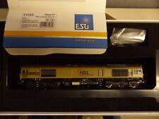 ESU 31285 Skala H0 Diesellokomotive der HSL Logistik, 653-07, Epoche VI, gold,