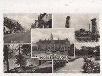 Middlesbrough 1962 RP Postcard 922a