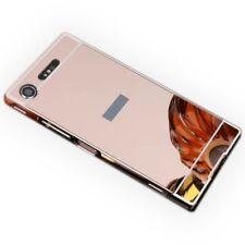 Pare-chocs en aluminium 2 pièces protection rose pour Sony Xperia XZ1 G8341