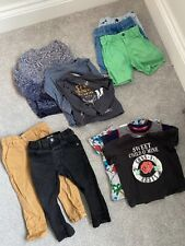 Bundle of boys toddler baby clothes 12-18 months