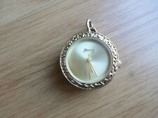 Rare Mantaray Gold Plated Pendant Quartz Watch (BARGAIN)