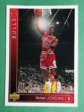 MICHAEL JORDAN UD BASKETBALL BOX TOPPER CARD 1993 94  RARE SAME as PROMO #1