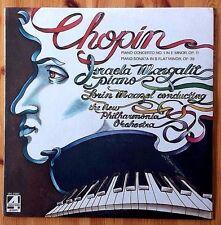 New! CHOPIN Concerto No. 1  Margalit New Philharmonia Orchestra Maazel RARE