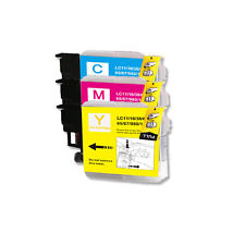 3 COLOR CMY Ink Cartridge Compatible for Brother LC61 MFC J220 J265W J270W J410W