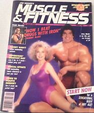 Muscle & Fitness Magazine Lou Ferrigno Betty Weider January 1986 070817nonrh