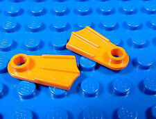 LEGO-MINIFIGURES SERIES [1] NEW ORANGE FLIPPERS FOR THE SERIES 1 SEA DIVER PARTS