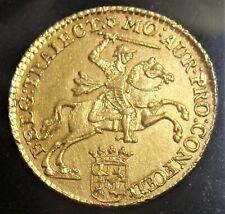 Netherlands: Utrecht. Provincial gold 7 Gulden 1763. BU.