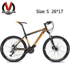 "SAVA 26"" Hydraulic Mountain Bike 27S Bicycle Aluminum Alloy Frame M1 3 Colors"