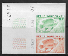 Mali 1976 Tilapia Monodi 150f Proof No. 01474 Unused