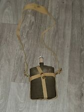 Ww 2 Canadian Canteen Set Carrier & Water Bottle-Unissued