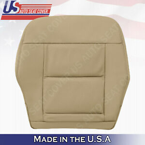 For 2010 2011 2012 2013 Mercedes Benz E350 Driver Bottom Leather Cover Dark Tan