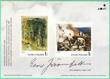 Painter Forest Scene Burn-Clearing Eero Järnefelt Stamp Sheet Finland MNH 2013