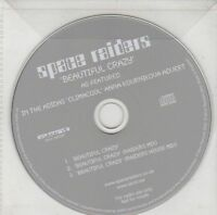 (ED148) Soace Raiders, Beautiful Crazy - 2002 DJ CD