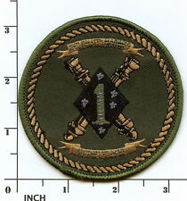 USMC 2nd Battalion/11th Marines Subdued OD ! ARTILLERY 2/11 2d Bn/11th Mar PATCH