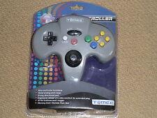 Nintendo 64 N64 Controlador en Gris Totalmente Nuevo Y Sellado! Almohadilla De Control De Juego Gamepad