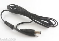 5pcs 1.5M 5ft DC Power 2.1 x 5.5mm Male Plug Cord cable DC Adapter cable Black