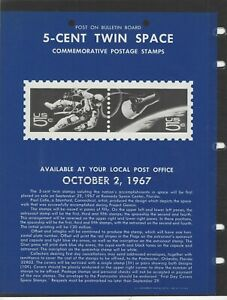 UNOFFICIAL SOUVENIR PAGE 5 CENT TWIN SPACE NO STAMPS