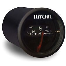 Ritchie X-21 In-Dash Marine Compass Black 2""