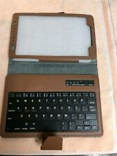 "7"" - 8"" inch Tablet Universal Leather Case Cover with Keyboard"
