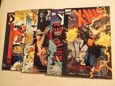 X-MAN, X-MEN, EXCALIBUR, X-FACTOR PRESTIGE LOT OF 6 BOOKS