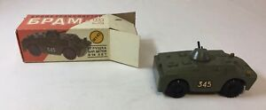 vintage RUSSIAN COLLECTOR SERIES DIECAST TANK in box ~ 1:43