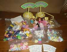 Huge Mixed Lot of 100's of doll accessories ~ unknown brands ~ See Pics ~ Wow