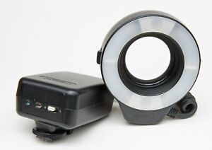 CANON RING FLASH MACRO RING LITE ML-3 WITH 52mm  MOUNT  RING & INSTRUCTIONS