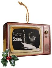 Retro Scrooge & Other Classic Television Vintage Look Wood Orn Free Us Shipping