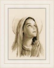 Hail Mary  : Vervaco Counted Cross Stitch Kit - PN0161586