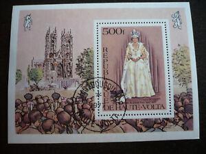 Stamps - Burkina Faso - Scott# 438 - Souvenir Sheet