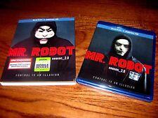 Mr. Robot: Season 2 (Blu-ray + Digital HD) ] Brand New; Sealed + I Ship Faster
