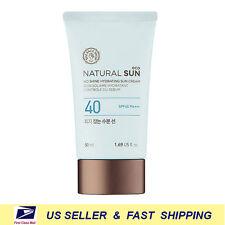 [ THE FACE SHOP ] Natural Sun Eco Sebum Control Moisture Sun 50ml +Free Sample+
