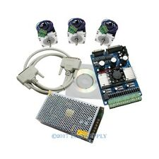 CNC Kit 3 Axis TB6560 Driver Board +3x Nema 17 Stepper Motor 60 Oz-in + Software