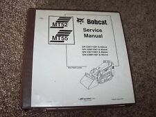 Bobcat Ingersoll Rand MT52 MT55 Mini Skid Steer Shop Service Repair Manual