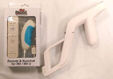 Wii Zapper Light Gun + Remote & Nunchuk Set for Wii / Wii U - Old Skool