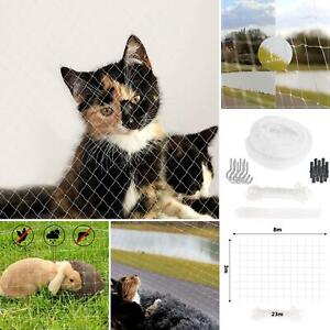 Home Balcony Window Cat Dog Protection Mesh Net Pet Stop Escape Fence Reliable