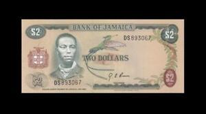 1960 (1976) BANK OF JAMAICA $2 (( GEM UNC ))