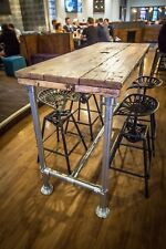 Dining Table 6 - 8 seater Industrial Modern Rustic Reclaimed Scaffolding Timber