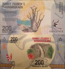 MADAGASCAR 2017 200 ARIARY  UNCIRCULATED BANKNOTE P-NEW BUY FROM A USA SELLER